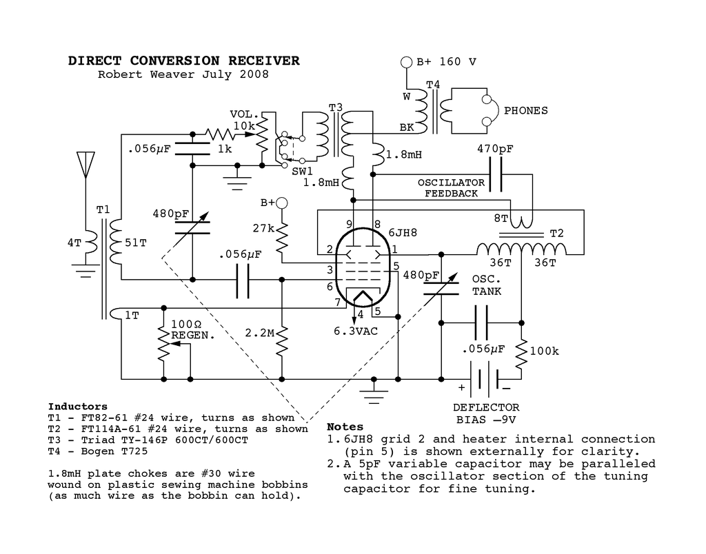 1961 moreover ElectronicsGuide further Long Live The All American Five Or Recovering A Piece Of Radio History likewise High Frequency Solid State Tesla Coil Hf Sstc as well Simple Guitar Vibrato. on tube oscillator schematic