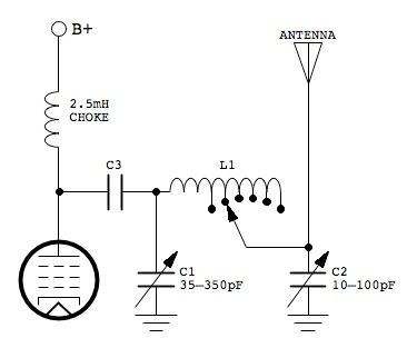 Low Power AM Transmitter Antenna Matching