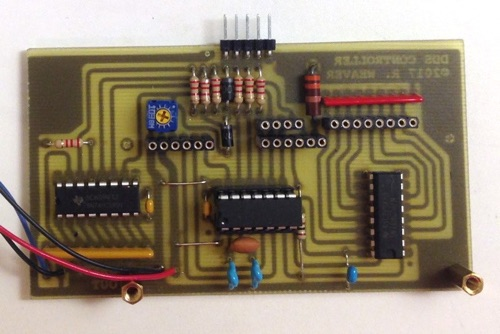PIC Controller Interface for an AD9850/AD9851 DDS Synthesizer