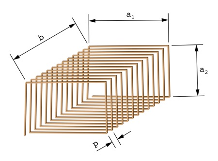 Rectangular coil inductance calculator greentooth Images