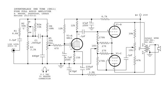 Mini-Tube Audio Amplifier - Part 2